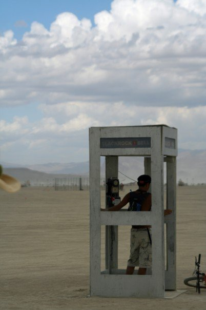 Phone Booth to Nowhere