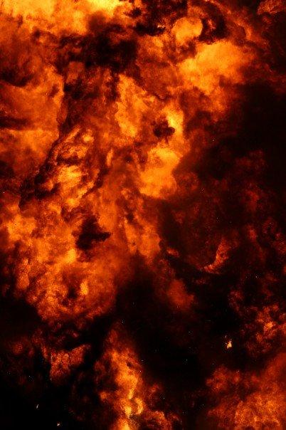 Burning Man Explosion